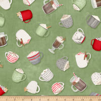 Wilmington Hot Cocoa Bar Tossed Cups Green