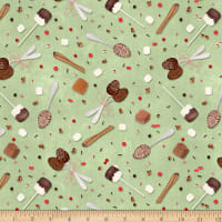 Wilmington Hot Cocoa Bar Spoons and Sprinkles Light Green