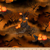 Wilmington Haunted Night Scenic Brown