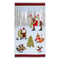 """Wilmington Cozy Critters Large 24"""" Panel Multi"""