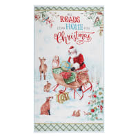 "Wilmington A Magical Christmas Large 24"" Panel Multi"