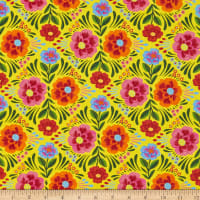 Paintbrush Studios Viva Mexico! Large Floral Yellow