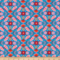 Paintbrush Studios Viva Mexico! Small Floral Blue