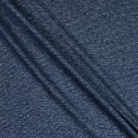 Splendid Apparel Rayon Spandex Jersey Knit Heathered Stripe Navy