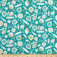 FIGO Polar Magic Party Metallic Turquoise