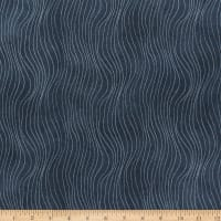 Northcott Arctic Wonders Whale Fin Texture Grey