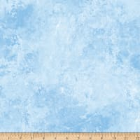 Northcott Stars and Stripes Quartz Light Blue