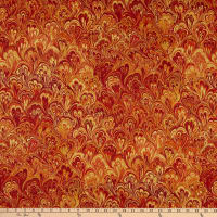 Northcott The Art of Marbling Marble 2 Boho Butterscotch