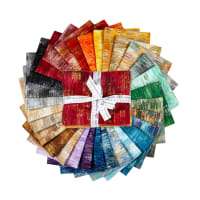 Kaufman Fusions Brushwork Fat Quarter Bundles 30pcs Brushwork