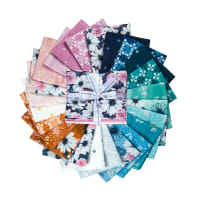 Kaufman Fat Quarter Bundles Daisy Made 24 Pcs