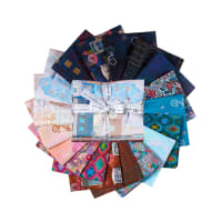 Kaufman Fat Quarter Bundles Happy Place Multi (18 pcs)