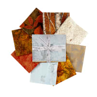 "Kaufman Wildwood Grace 24"" Panel and Fat Quarter Bundle Autumn"