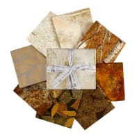"Kaufman Wildwood Grace 24"" Panel and Fat Quarter Bundle Natural"
