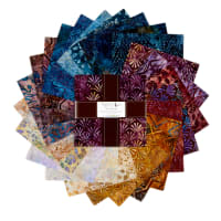 Kaufman Artisan Batiks Sorrento Ten Squares 42pcs Sorrento
