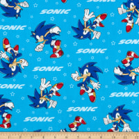 Kaufman Sonic The Hedgehog Sonic Blue