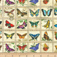 Kaufman Library Of Rarities Butterfly Stamps Vintage