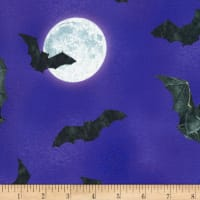 Kaufman Raven Moon Bats And Moons Gumdrop