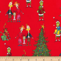 Kaufman How The Grinch Stole Christmas Red