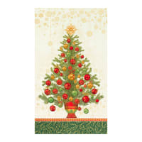 "Kaufman Holiday Flourish 13 Tree 24"" Panel Holiday"