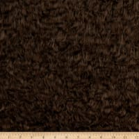 Shannon Lux Faux Fur Mohair Brown