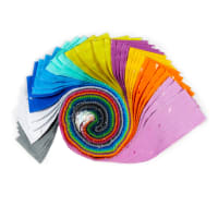 "Snippets Pearlescent 2.5"" Strips 40pcs Multi"