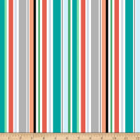 Owl's Woodland Adventure  Stripe Multi
