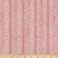 Shannon Minky Luxe Cuddle Iced Chinchilla Rose Crystal