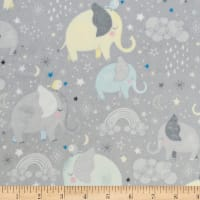 Shannon Studio Digital Minky Cuddle Mama & Me Gray