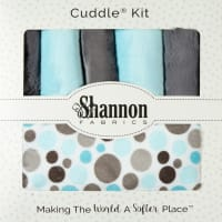 Shannon Minky Cuddle Kit Lullaby Enchanting Elephant