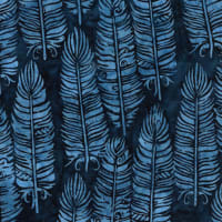 Island Batik Vertical Feather Navy