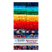 "Island Batik American Frontier 2.5"" Strip Pack 40pcs Assorted"
