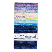 "Island Batik Wonderland Strip Pack (2.5"") 40 Pcs"
