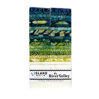 "Island Batik River Valley Strip Pack (2.5"") 40 Pcs"