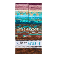 "Island Batik Santa Fe Strip Pack (2.5"") 40 Pcs"