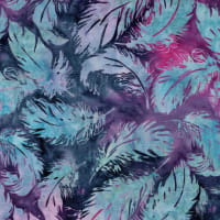 Island Batik Northern Lights Tossed Feather Cotton Candy