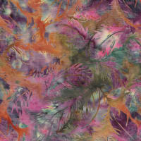 Island Batik Whispering Feathers Tossed Feather Weeds