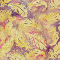 Island Batik Whispering Feathers Tossed Feather Mystic Berry