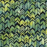 Island Batik River Valley Geometric Arrow Navy