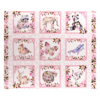 "In The Beginning Fabrics Pretty In Pink 36"" Panel Pink"
