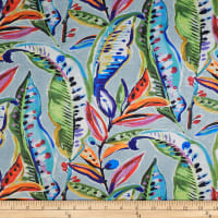 Enrique Tropical Digital Print Basketweave Carnival