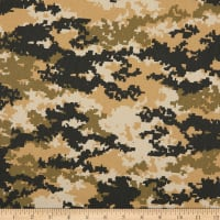 12 Oz Cotton Duck Canvas Digital Camo