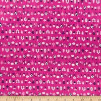 Felicity Fabrics Burgess Fields Multi Flower Petunia
