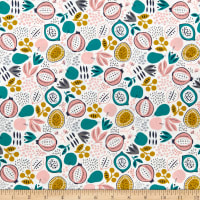 Felicity Fabrics Burgess Fields Fruit Toss Begonia