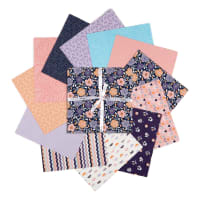 "Felicity Fabrics Dotty Flora Taffy 10"" Biggies 42pcs"