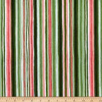 Maywood Studio Prose Painterly Stripe Green