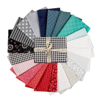 Maywood Studio Precut Kimberbell Basics Kim's Picks Fat Quarter Bundles Winter 21pcs Multi