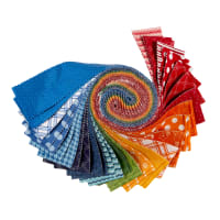 "Maywood Studio Precut Kimberbell Basics Kim's Picks 2.5"" Strips Summer 40 pcs Multi"