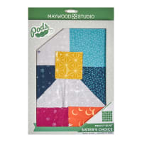 Maywood Studio Pod Moongate Sister's Choice Quilt Kit Multi