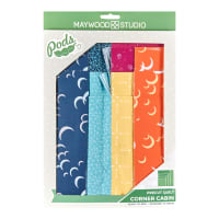 Maywood Studio Pod Moongate Corner Cabin Quilt Kit Multi
