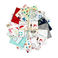 Maywood Studio Precut Vintage Boardwalk Fat Quarter Bundle 15pcs Multi